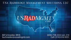 Sample Business Card US Rad Managment